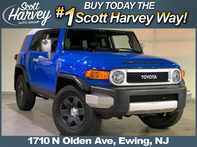 Pre-Owned 2007 Toyota FJ Cruiser 4WD 4dr Manual