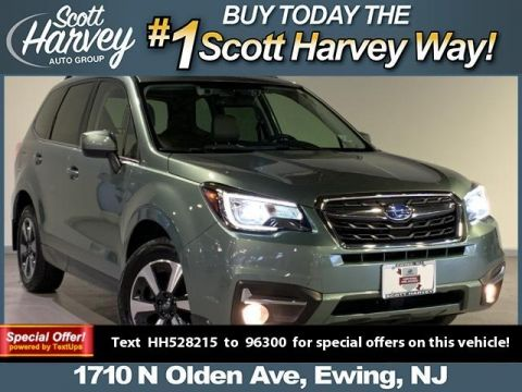 Pre-Owned 2017 Subaru Forester 2.5i Limited CVT